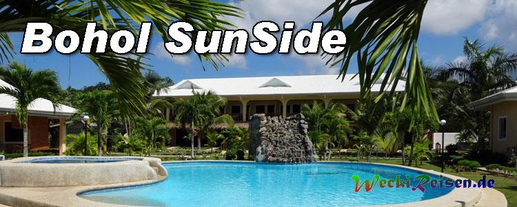 Das Bohol Sunside Resort wurde 2011 eröffnet und liegt ca. 1 km außerhalb von Alona. Auf Grund seiner ruhigen Lage ist es sehr beliebt bei den Gästen.