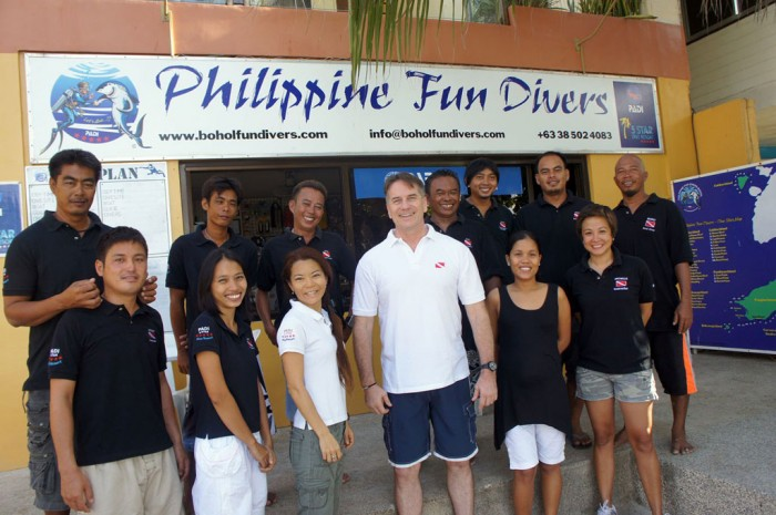 Philippinen Fun Diver Team